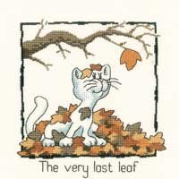 HC913 - The Very Last Leaf by Peter Underhill - Cats-Rule!